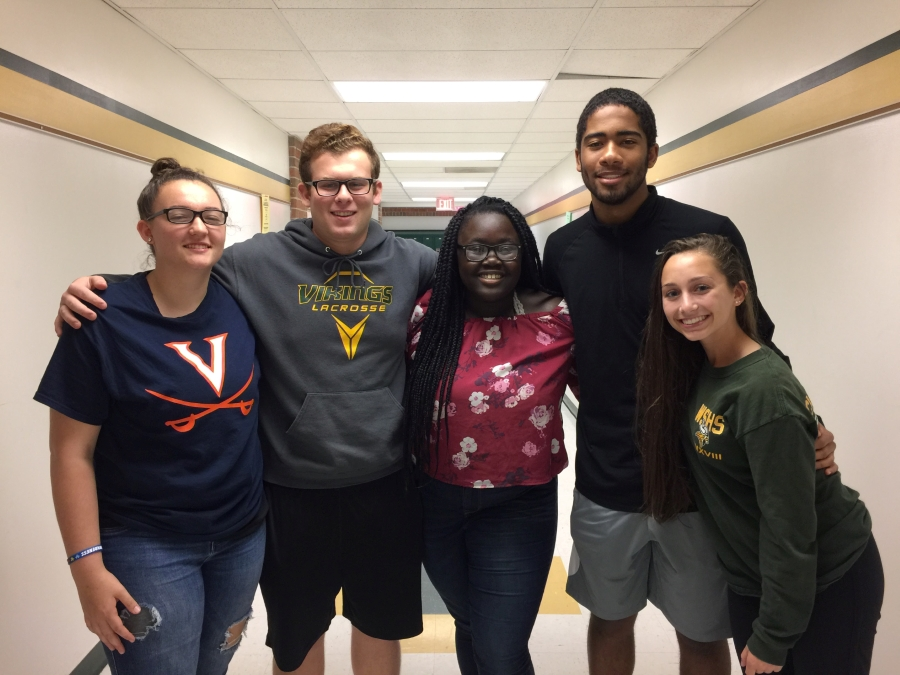 Class of 2018 Officers